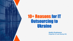Cover: 10+ Reasons for IT Outsourcing to Ukraine